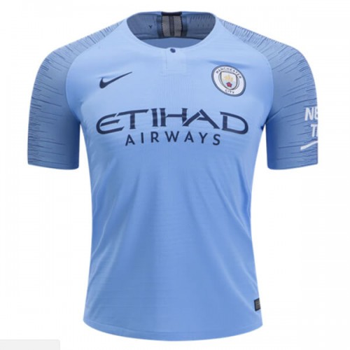 Manchester City Home Football Shirt 1819 Player Version
