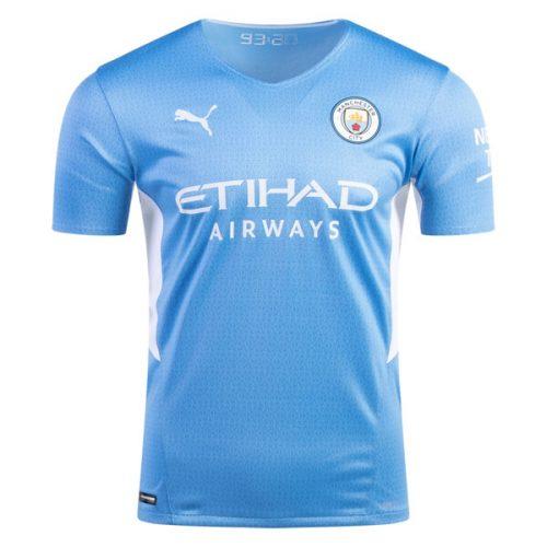 Manchester City Home Player Version Football Shirt 21 22