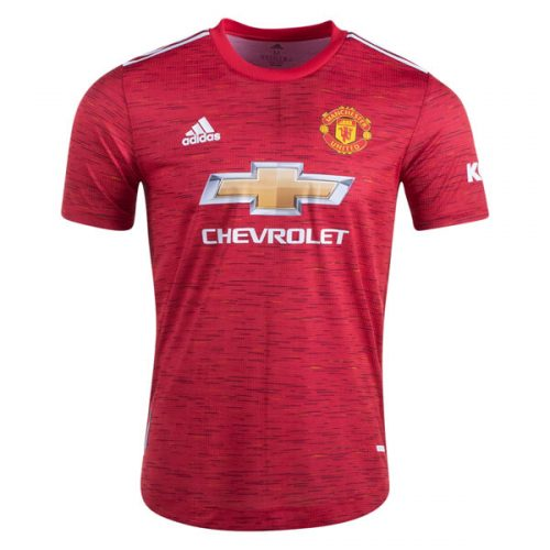 Manchester United Home Football Shirt 20 21 - Player Version