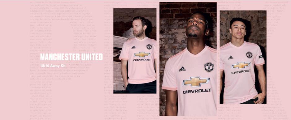 Manchester United Pink Slider