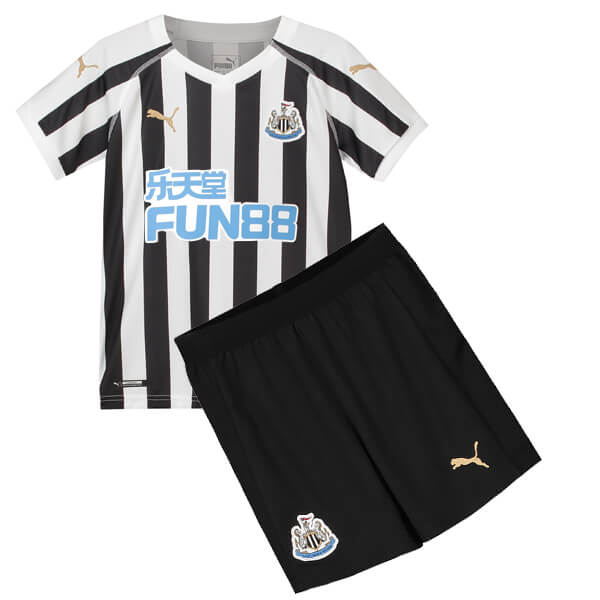 Newcastle United Home Kids Football Kit 18 19 - SoccerLord 112fe9741