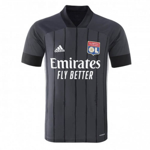 Olympique Lyon Away Football Shirt 20 21