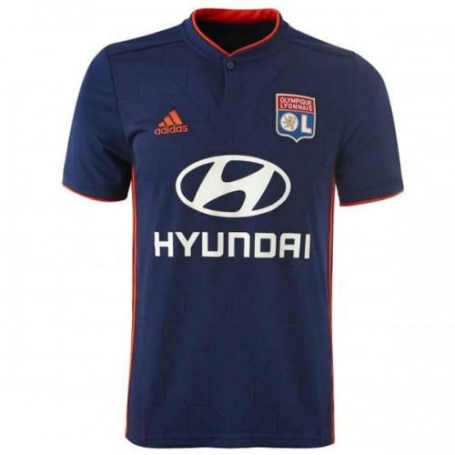Olympique Lyon Away Soccer Jersey 1819