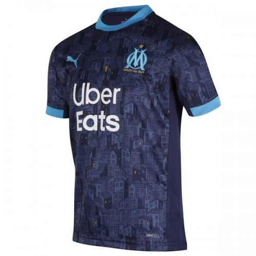 Olympique Marseille Away Football Shirt 20 21