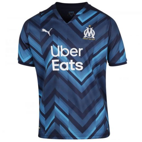 Olympique Marseille Away Football Shirt 21 22