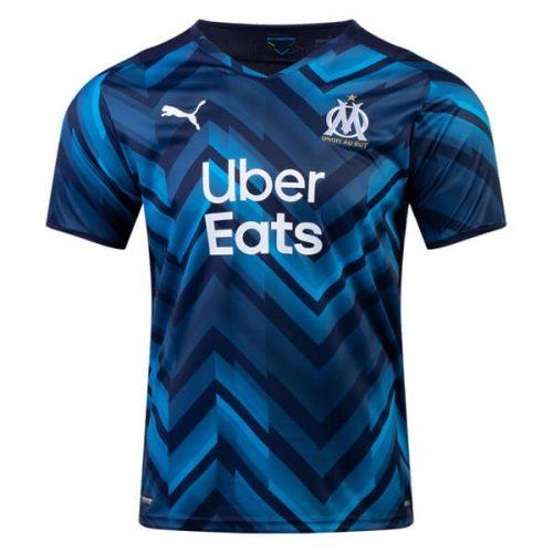 Olympique Marseille Away Football Shirt 2122