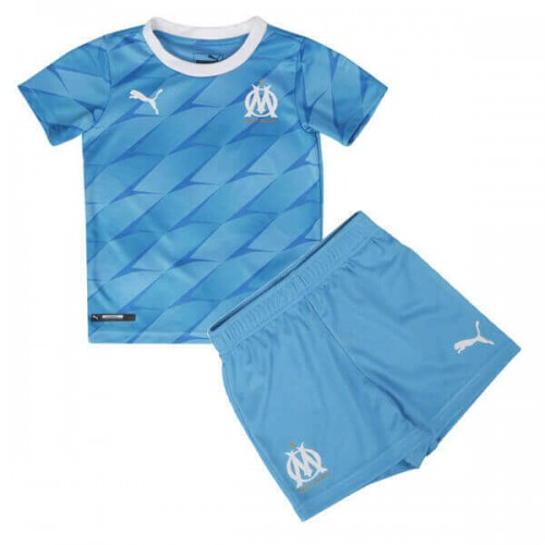 Olympique Marseille Away Kids Football Kit 19 20