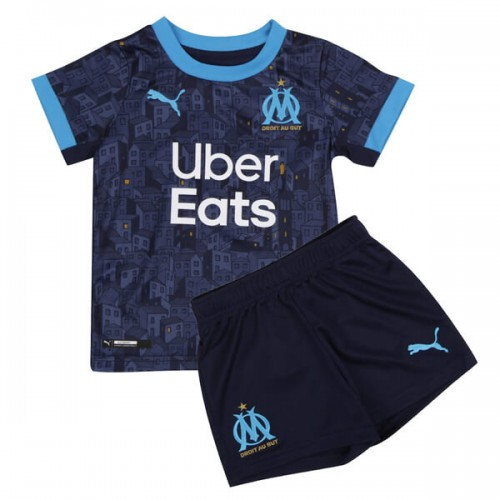 Olympique Marseille Away Kids Football Kit 20 21