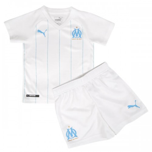 Olympique Marseille Home Kids Football Kit 19 20