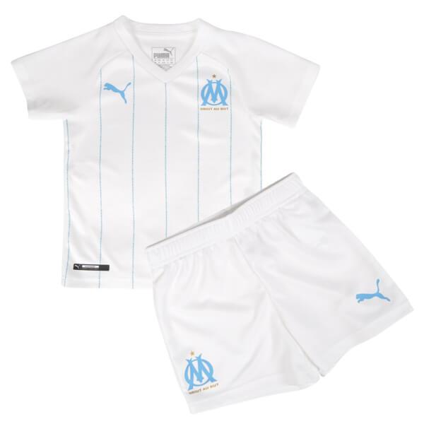 cheaper 483e6 a52f9 Olympique Marseille Home Kids Football Kit 19/20