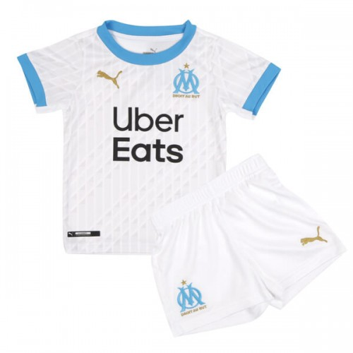 Olympique Marseille Home Kids Football Kit 20 21