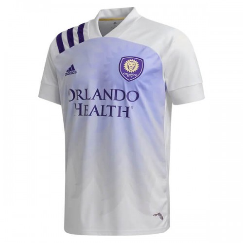 Orlando City White Heart and Sol Soccer Jersey 2020