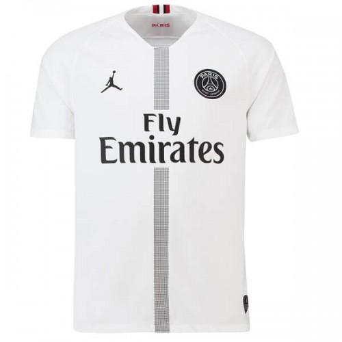 PSG 3rd Jordan Football Shirt 2018 2019 - White