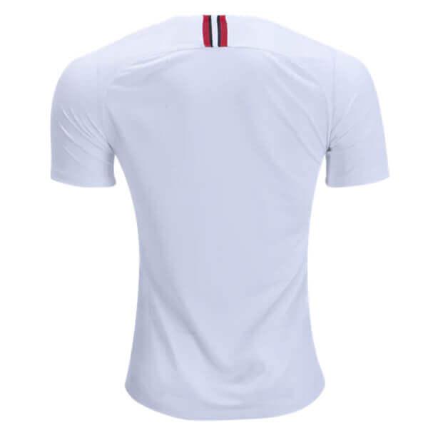 finest selection cecee 1eec2 Paris Saint-Germain 3rd Jordan Football Shirt 18/19 - White