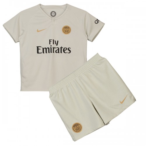 PSG Away Kids Football Kit 1819