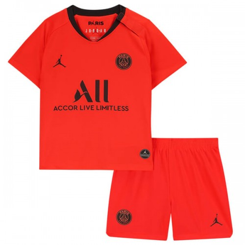 PSG Away Kids Football Kit 1920