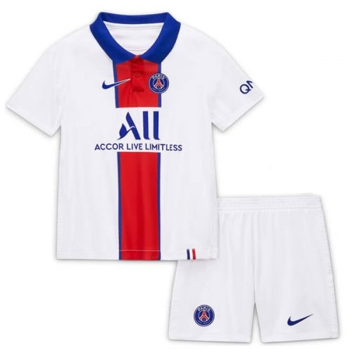 PSG Away Kids Football Kit 20 21