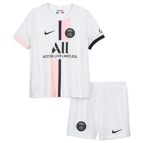 PSG Away Kids Football Kit 21 22