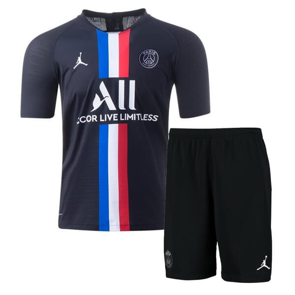 Psg Fourth Jordan Kids Football Kit 19 20 Soccerlord