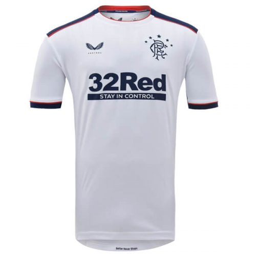 Rangers Away Football Shirt 20 21