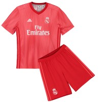 Real Madrid 3rd Kids Football Kit 1819