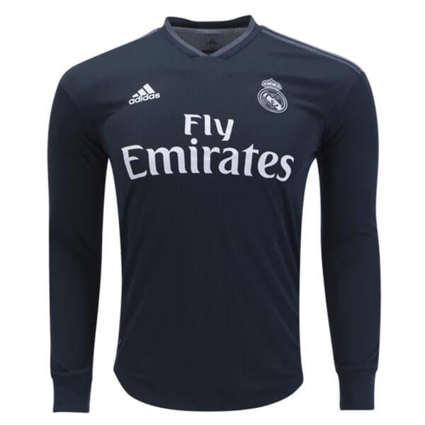 1a1638520e3 Real Madrid Away Long Sleeve Football Shirt 18 19 - SoccerLord
