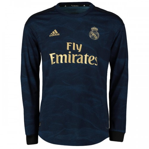 Real Madrid Away Long Sleeve Football Shirt 1920