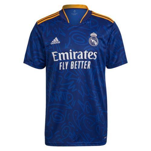Real Madrid Away Player Version Football Shirt 21 22