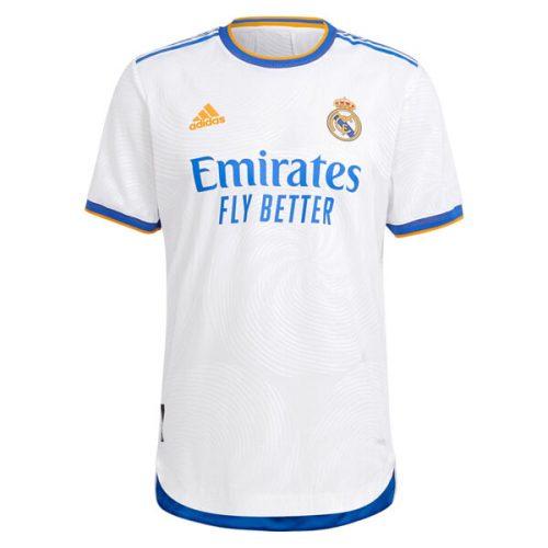 Real Madrid Home Player Version Football Shirt 21 22
