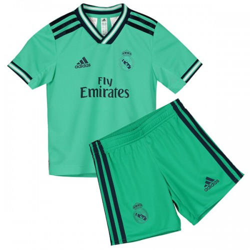 Real Madrid Third Kids Football Kit 19 20