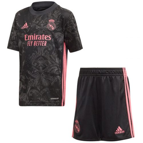 Real Madrid Third Kids Football Kit 20 21