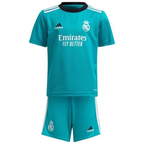 Real Madrid Third Kids Football Kit 21 22