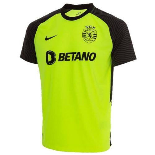 Sporting Lisbon Away Football Shirt 21 22