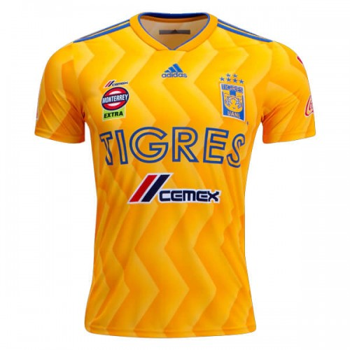 Tigres Home Soccer Jersey 18 19