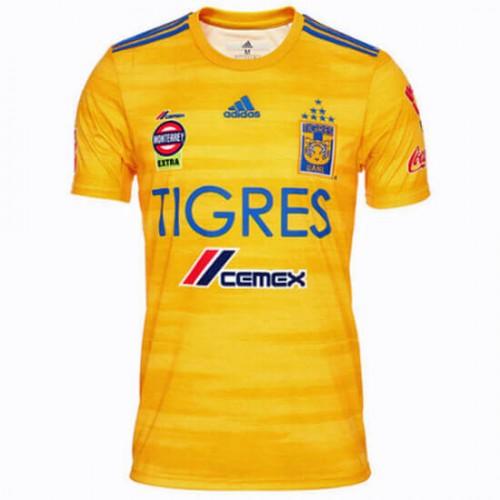 Tigres U.A.N.L. Home Soccer Jersey 19 20