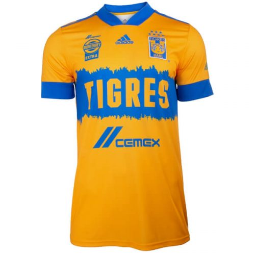 Tigres UANL Home Soccer Jersey 20 21