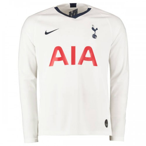 Tottenham Hotspur Home Long Sleeve Football Shirt 19 20