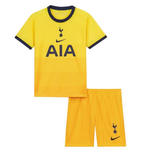 Tottenham Hotspur Third Kids Football Kit 20 21