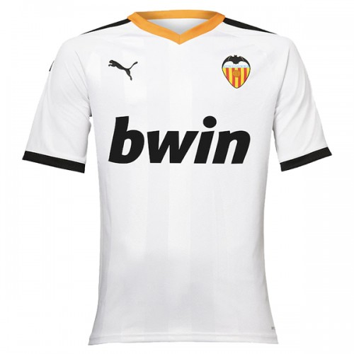Valencia Home Football Shirt 19 20