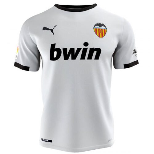 Valencia Home Football Shirt 20 21