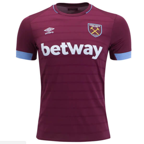 West Ham United Home Football Shirt 18/19 - SoccerLord