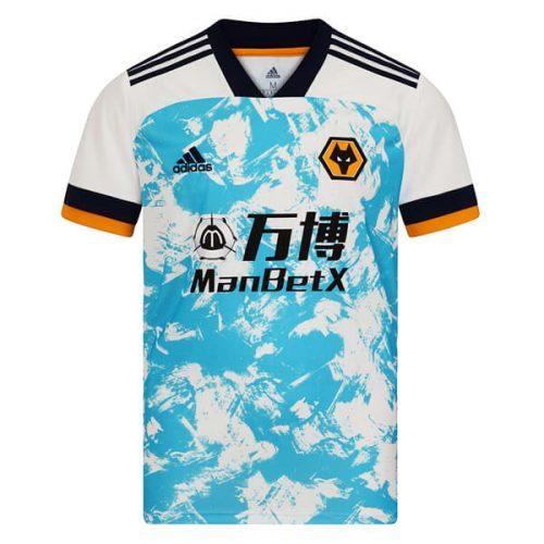 Wolverhampton Wanderers Away Football Shirt 20 21