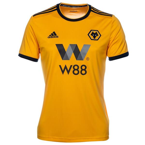 676e336f2 Wolverhampton Wanderers Home Football Shirt 18 19 - SoccerLord