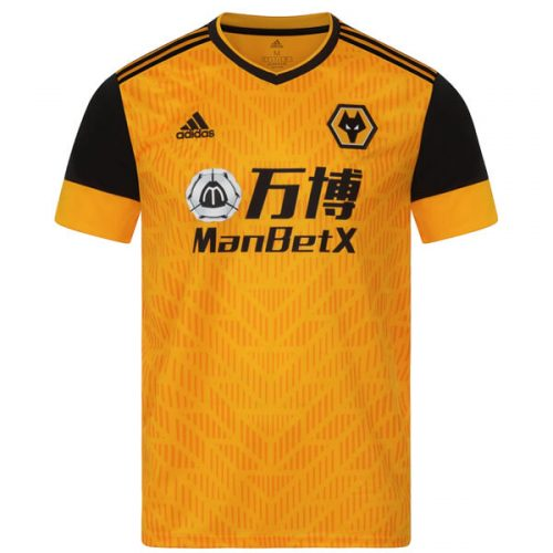Wolverhampton Wanderers Home Football Shirt 20 21