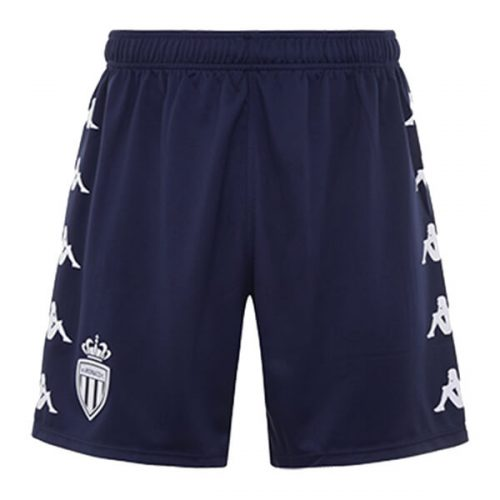 AS Monaco Away Football Shorts 20 21