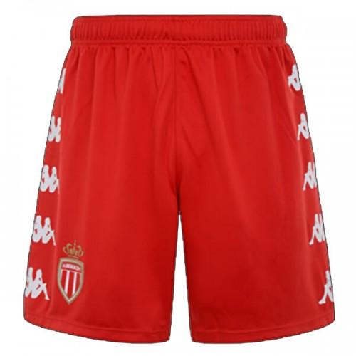 AS Monaco Home Football Shorts 2021