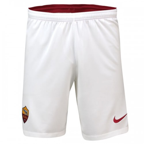 AS Roma Home Soccer Shorts 19 20