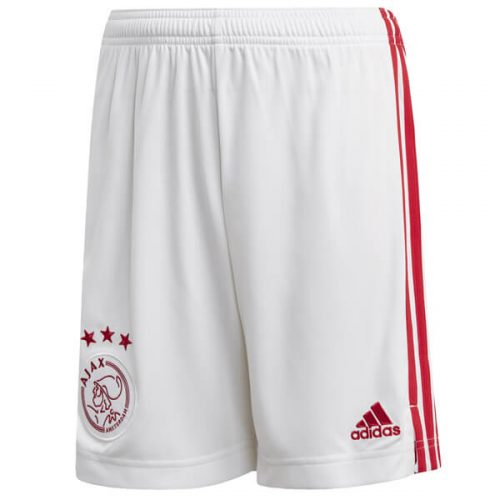 Ajax Home Football Shorts 20 21