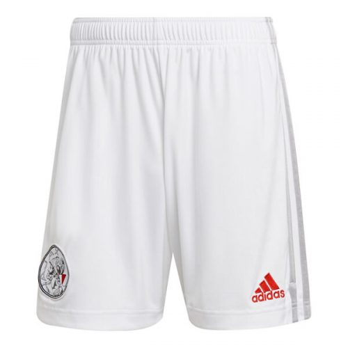 Ajax Home Football Shorts 21 22