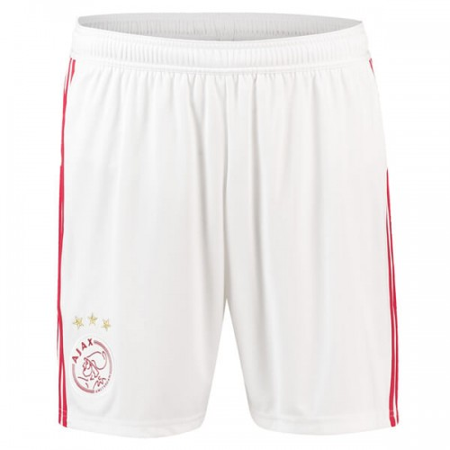 Ajax Home Soccer Shorts 18 19